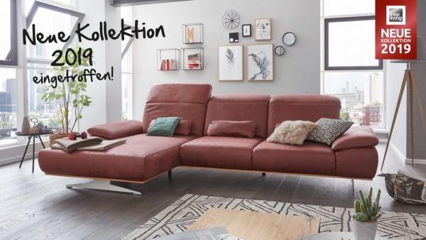 Interliving Sofa Serie 4300 - Ecksofa mit Funktionen und Nierenkissen