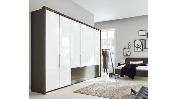 Interliving Schlafzimmer Serie 1006 - Kleiderschrank mit Beleuchtung