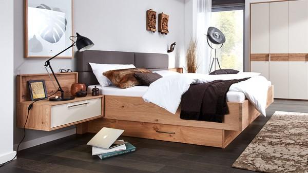 Interliving Schlafzimmer Serie 1002 - Bettkombination mit Extras
