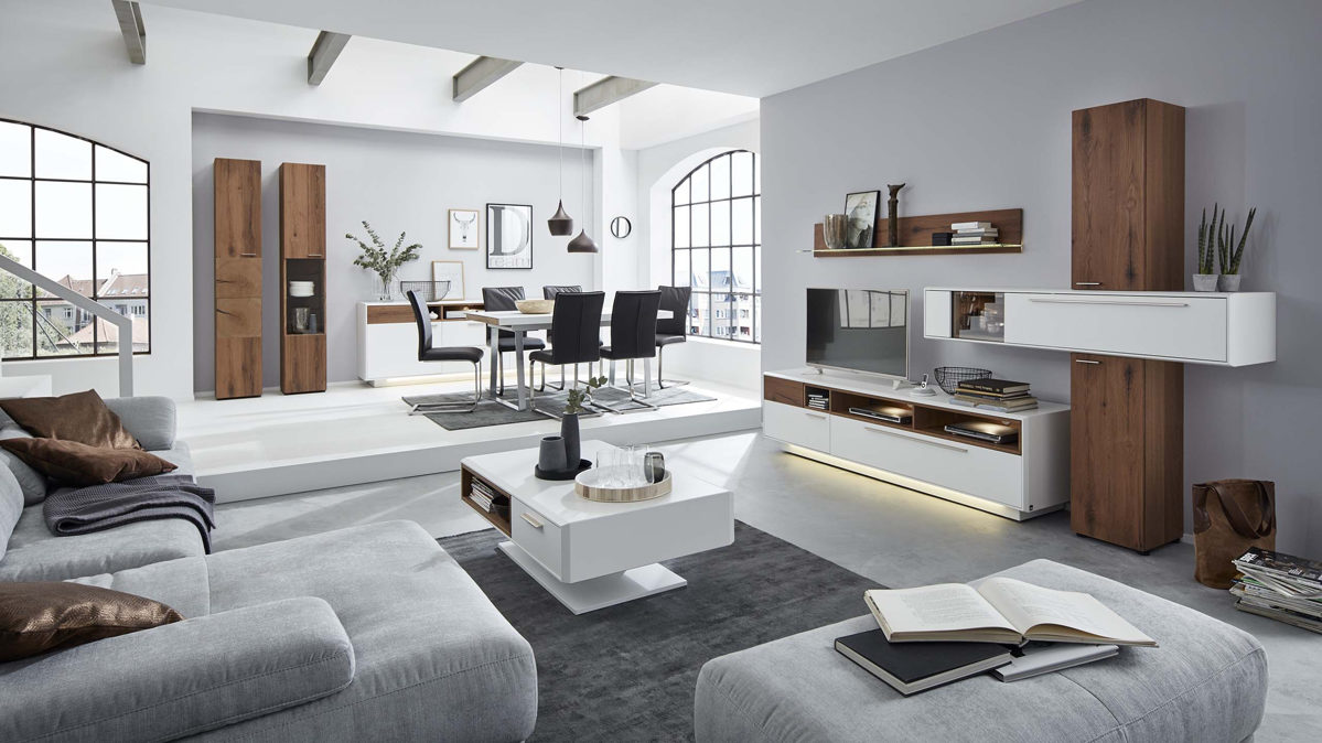 interliving wohnzimmer serie 2102 wohnkombination glei ner. Black Bedroom Furniture Sets. Home Design Ideas