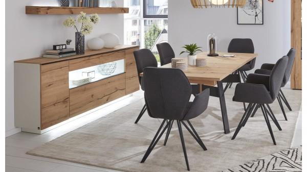 Interliving Wohnzimmer Serie 2103 - Sideboard 560811 mit Beleuchtung