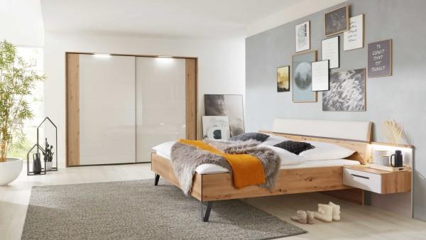 Interliving Schlafzimmer Serie 1021 - Komplettzimmer mit Beleuchtung