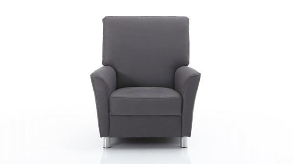 moderner Sessel als geschmackvolles Polstermöbel