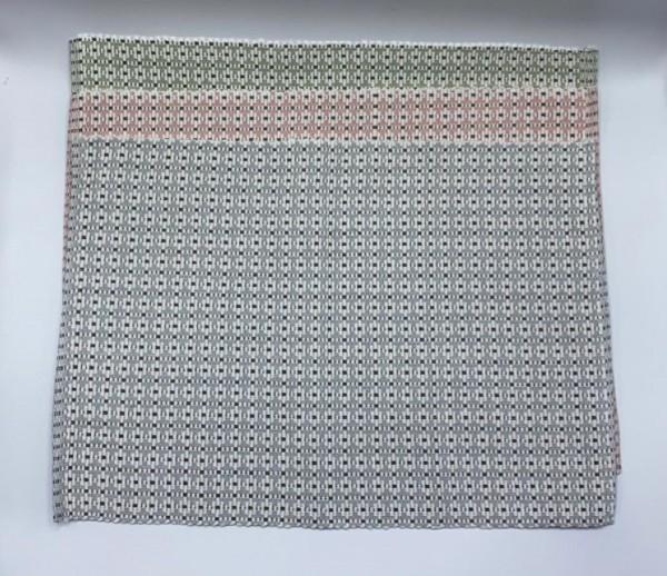 Ripp-Tischset Grau