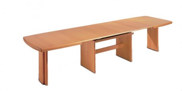 Esstisch mit Auszugfunktion als flexibles Esszimmermöbel