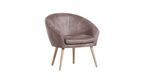 sessel im retro look als komfortables polsterm bel glei ner. Black Bedroom Furniture Sets. Home Design Ideas