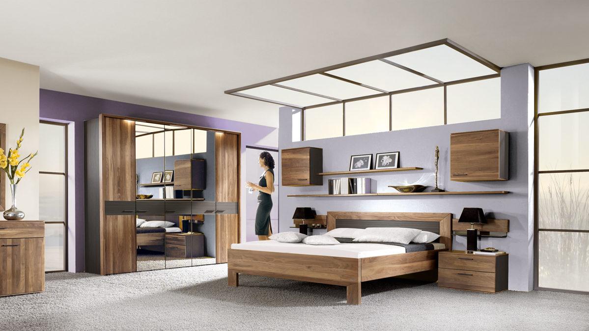 thielemeyer schlafzimmer mit massivholzm beln glei ner. Black Bedroom Furniture Sets. Home Design Ideas