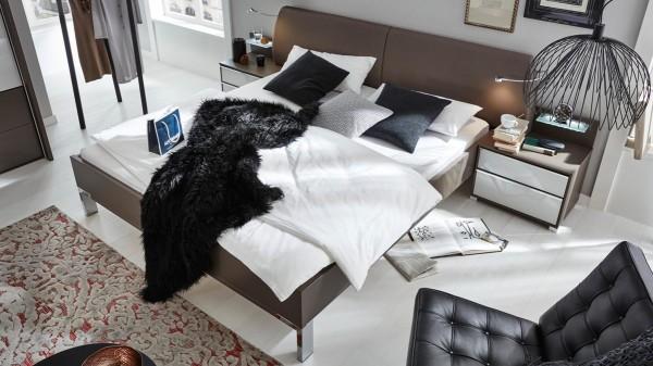 Interliving Schlafzimmer Serie 1006 - Bettgestell mit vielen Extras