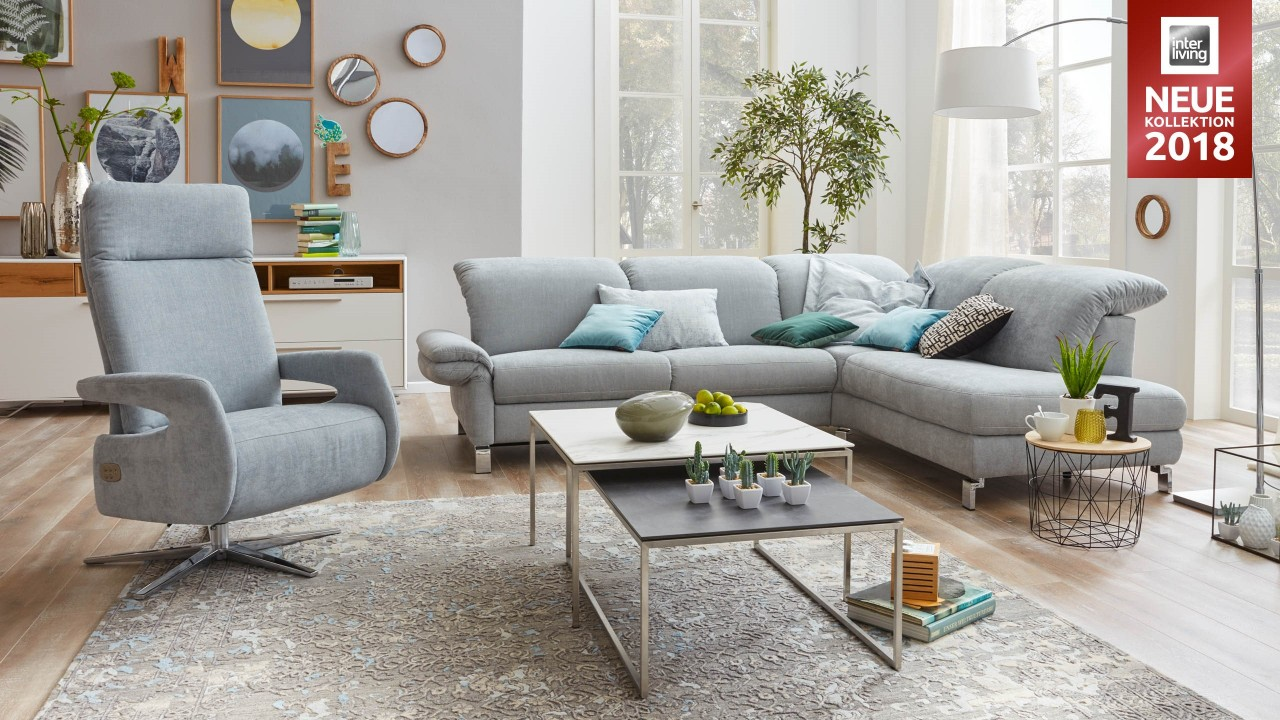Interliving Sofa Serie 4101 - Eckkombination | Gleißner
