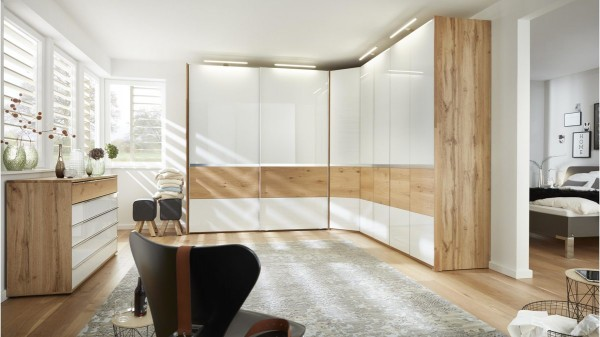 Interliving Schlafzimmer Serie 1202 Eckschrankkombination Gleissner