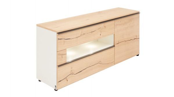 Interliving Wohnzimmer Serie 2103 - Sideboard mit Beleuchtung