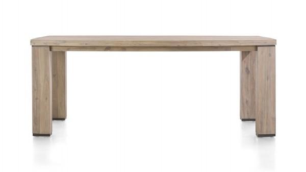 HABUFA Esstisch bzw. teilmassiver Holztisch