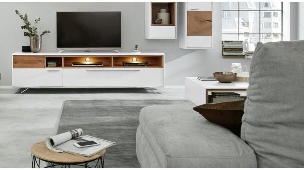 Interliving Wohnzimmer Serie 2102 - Medienboard 510303 mit Beleuchtung