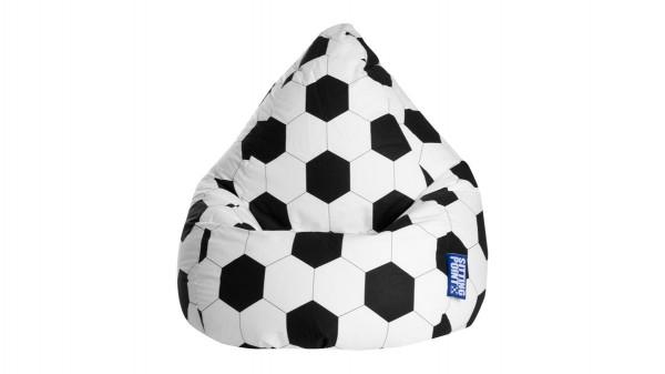 SITTING POINT Sitzsack Fußball XL als Sitzmöbel