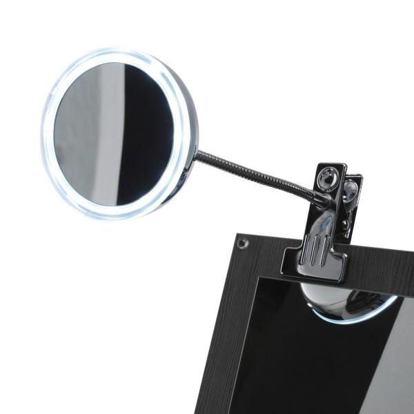 pelipal Lupenspiegel Solitaire mit LED-Beleuchtung & fünffach Vergrößerung