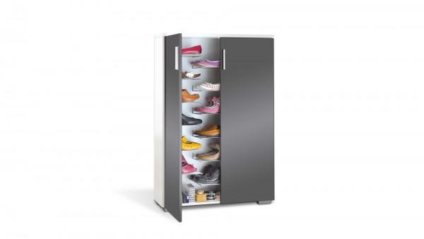 KAWOO Schuhschrank, ein Garderobenmöbel mit individueller Optik