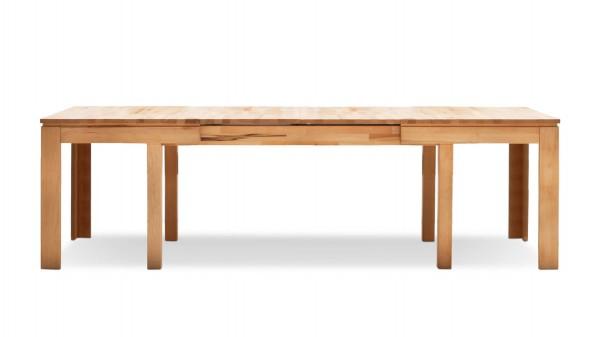 Massivholztisch mit 3 Einlegeplatten für Ihr Zuhause