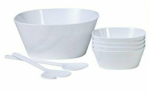 Salat-Set Conix Weiß