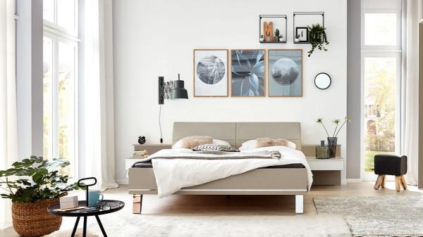 Interliving Schlafzimmer Serie 1009 - fünfteiliges Doppelbettgestell
