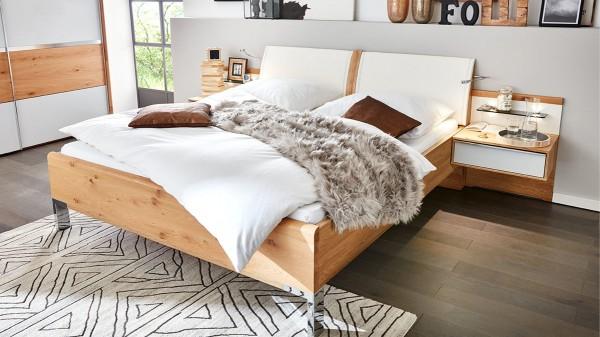 Interliving Schlafzimmer Serie 1202 - Bettgestell mit Nachtkonsolen