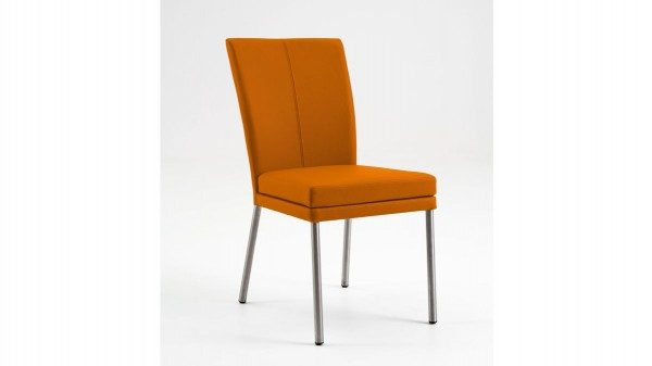 laVie Polsterstuhl Color-Line mit Lederbezug als Esszimmerstuhl