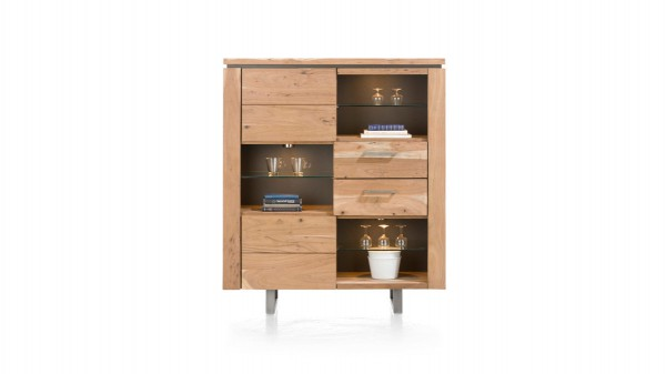 HABUFA Highboard als stilvolle Holzkommode
