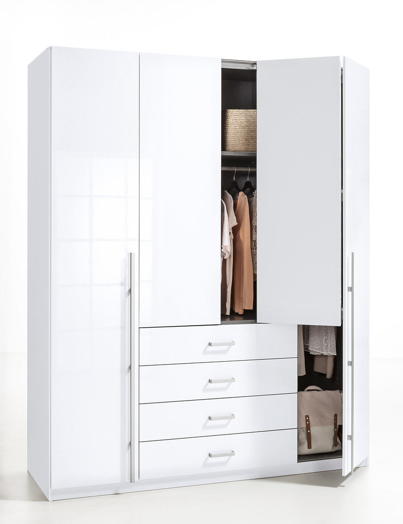 rauch select kleiderschrank als schlafzimmerschrank glei ner. Black Bedroom Furniture Sets. Home Design Ideas